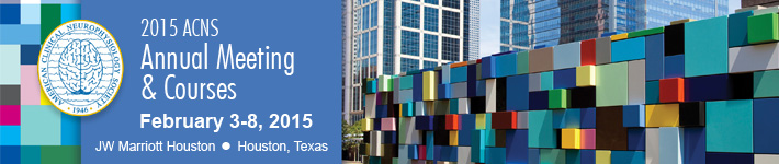 2015 Annual Meeting and Courses, February 3-9, 2015, Houston, Texas