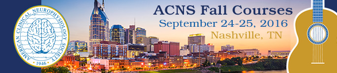 2016 Fall Courses - Nashville, Tennessee.