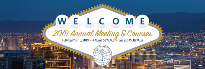 2019 Annual Meeting and Courses, February 6-10, 2019, Las Vegas, Nevada
