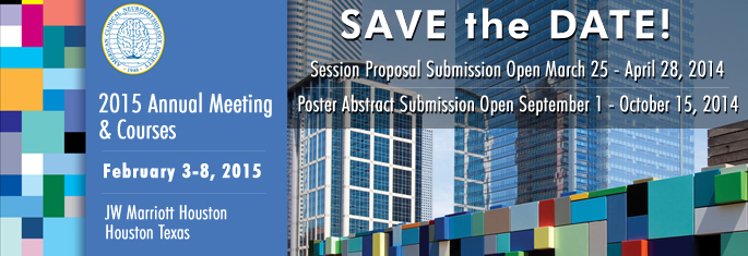 AM15 Save the Date & Proposal Submission